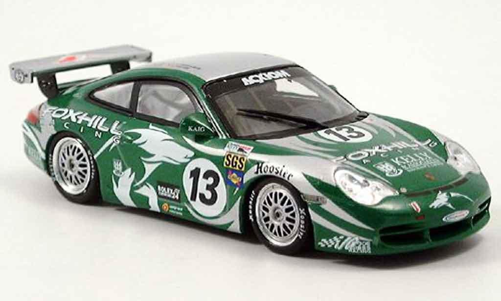 Porsche 996 GT3 1/43 Minichamps Cup Foxhill No.13 24 h Daytona miniature