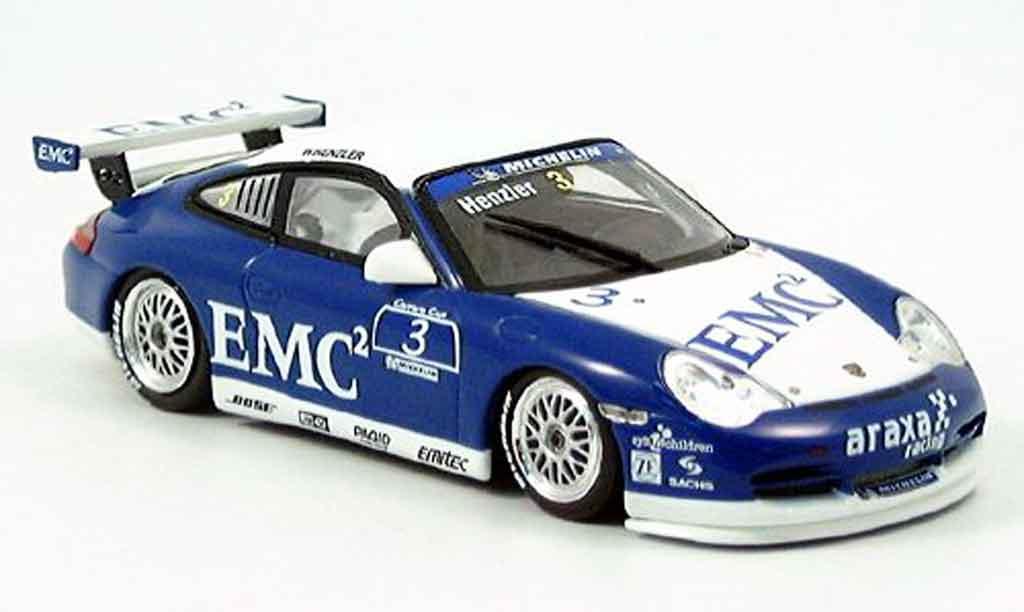 Porsche 996 GT3 Cup 1/43 Minichamps Carrera Cup W.Henzler 2004 miniature