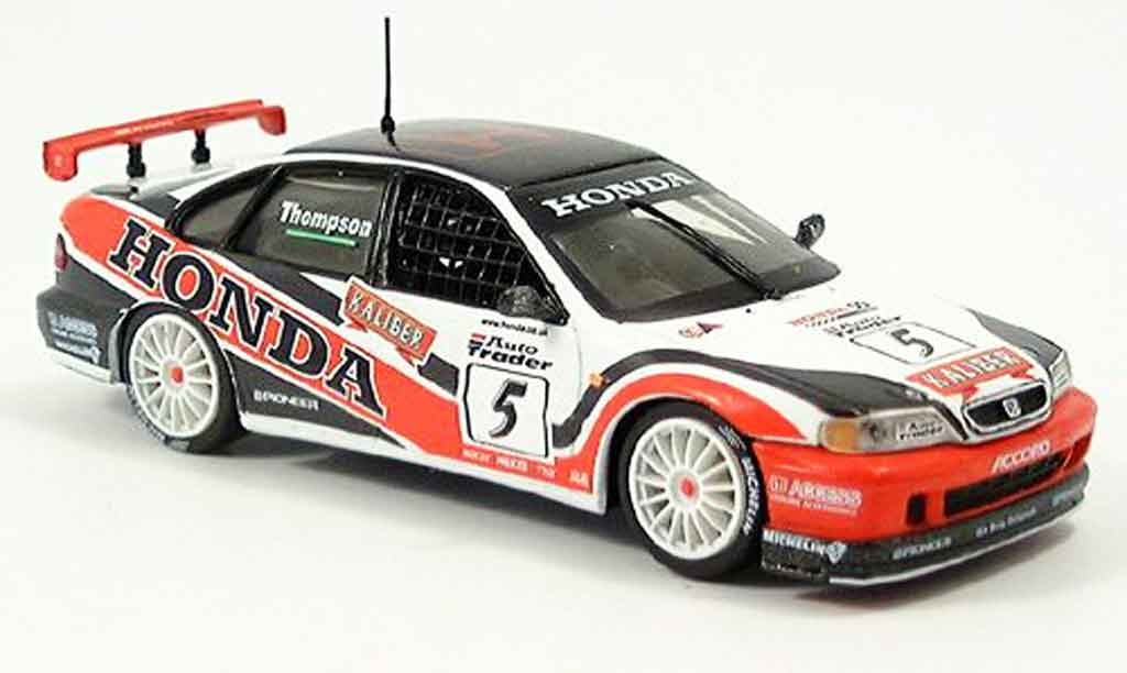 Honda Accord 1/43 Onyx Thompson BTCC No.5 1998 miniature