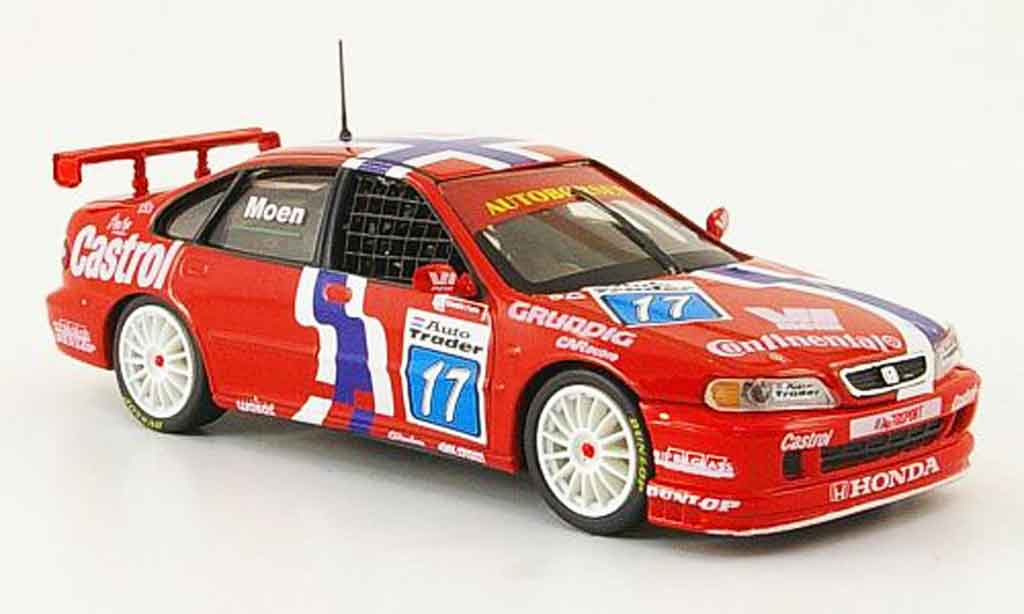 Honda Accord 1/43 Onyx R. Moen BTCC No.17 1998 miniature