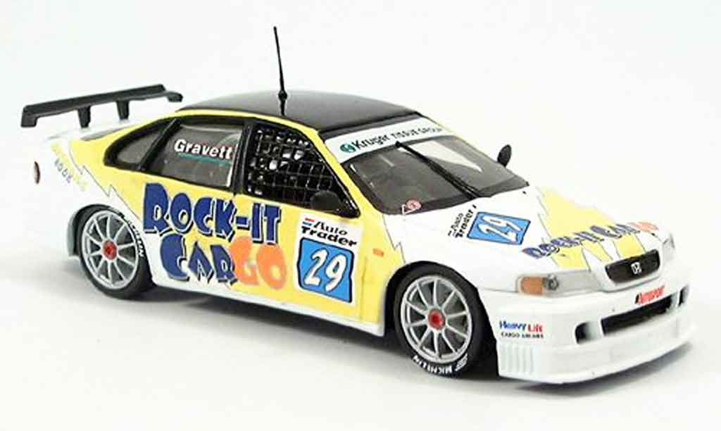 Honda Accord 1/43 Onyx R. Gravett BTCC 1998 diecast model cars