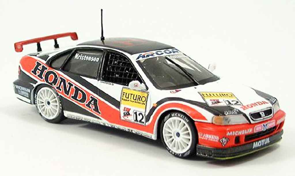 Honda Accord 1/43 Onyx T. Kristensen STW 1998 diecast model cars