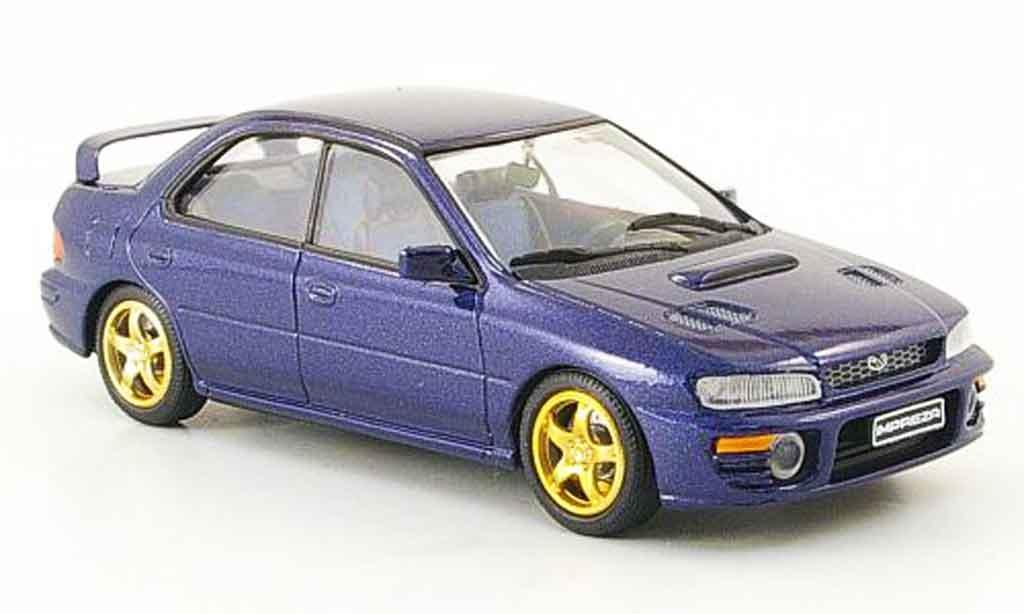 Subaru Impreza WRX 1/43 Trofeu bleu miniature