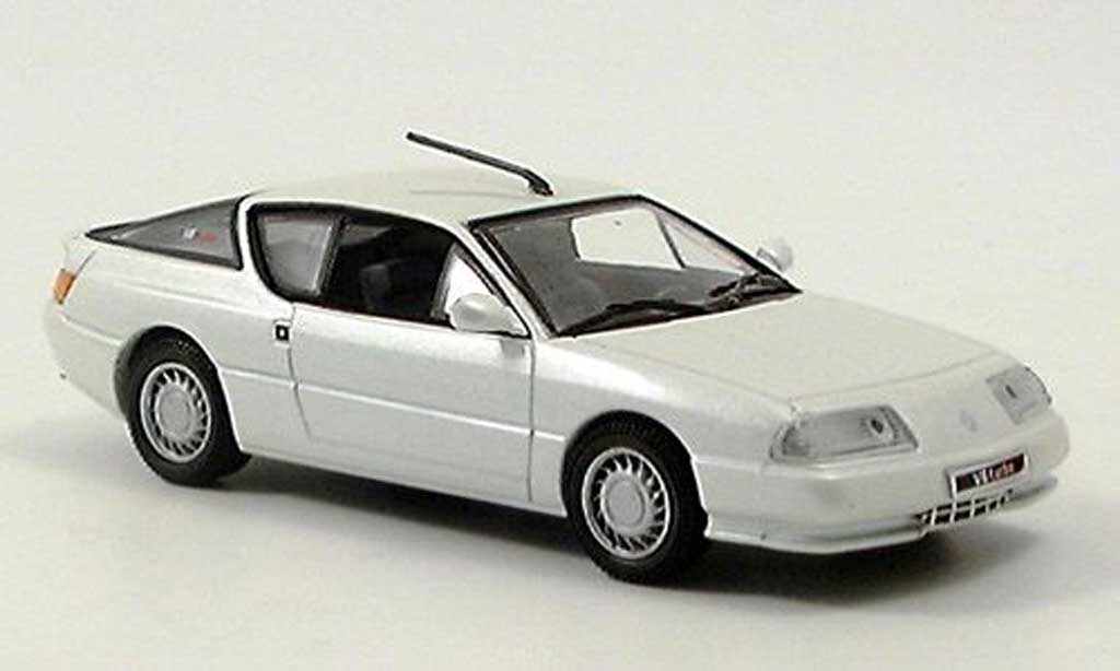 Alpine GTA V6 turbo 1/43 Eagle blanche miniature