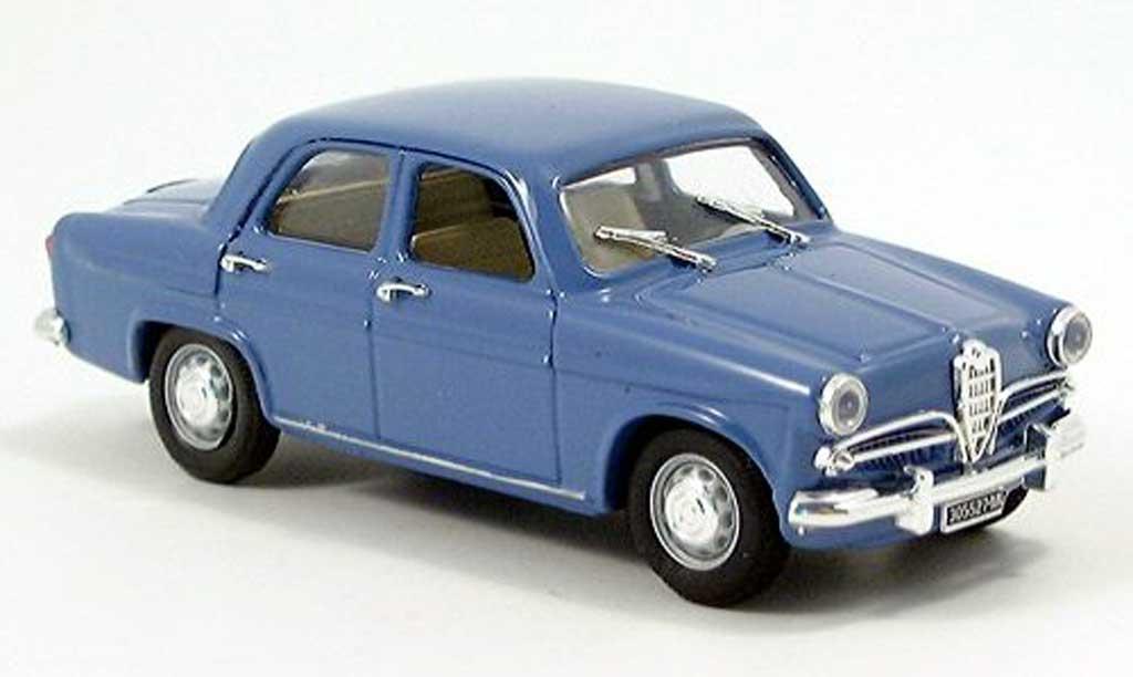 Alfa Romeo Giulietta 1/43 Rio Berlina bleu 1955 miniature
