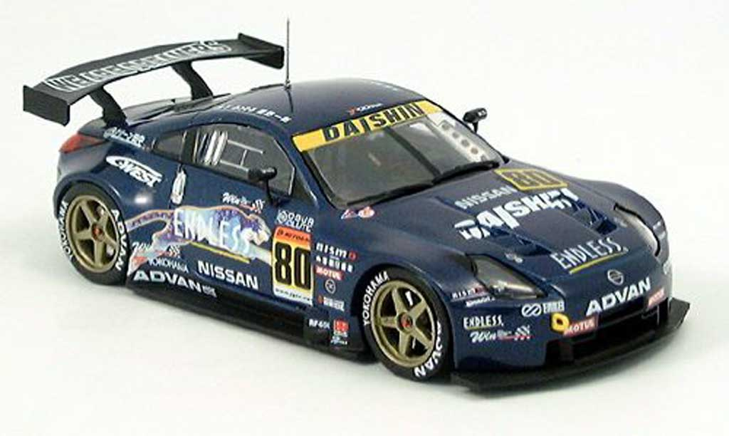 Nissan 350Z 1/43 Ebbro Fairlady JGTC GT 300 2004 diecast model cars