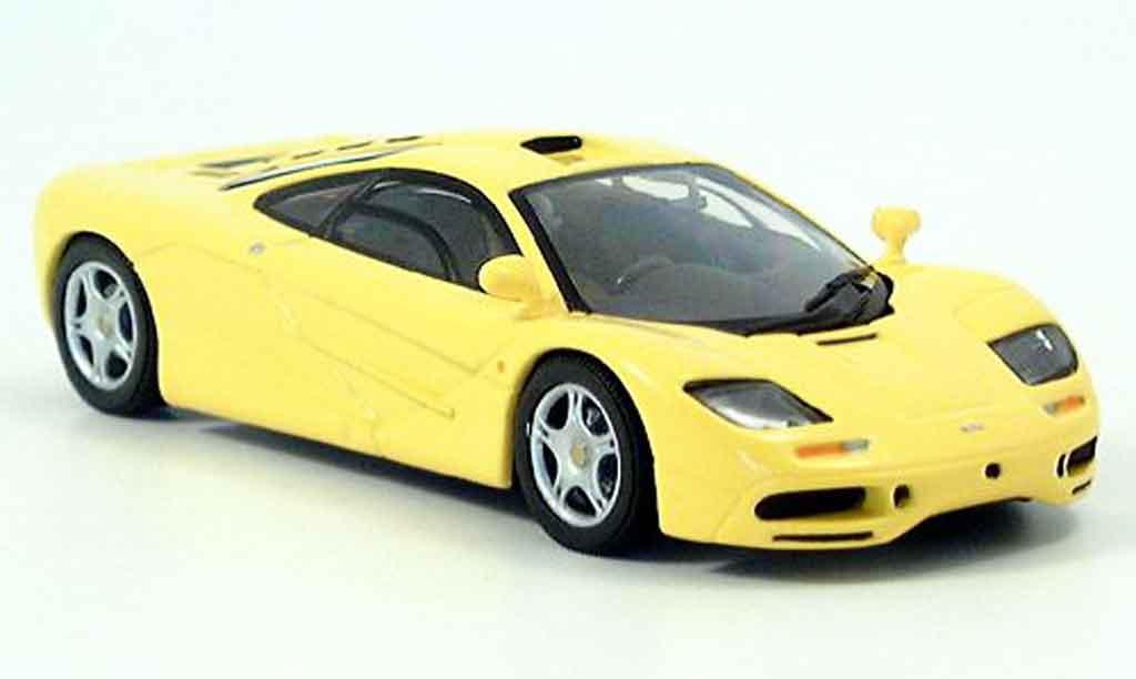McLaren F1 GTR 1/43 Minichamps jaune miniature