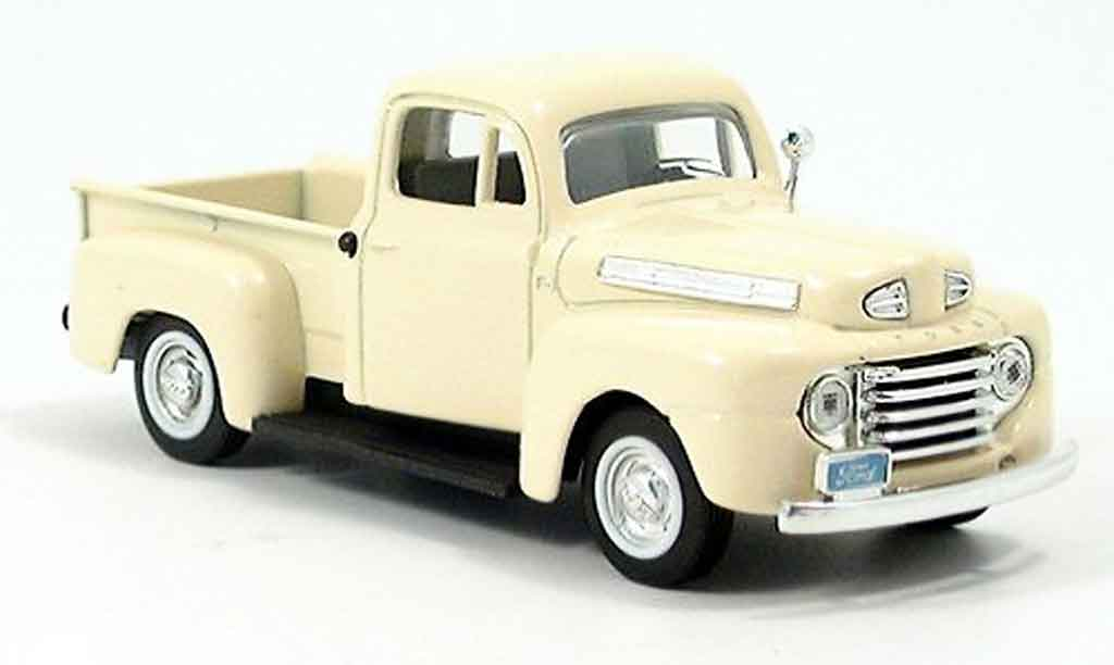 Ford F1 Pick Up 1/43 Yat Ming beige 1948 miniature