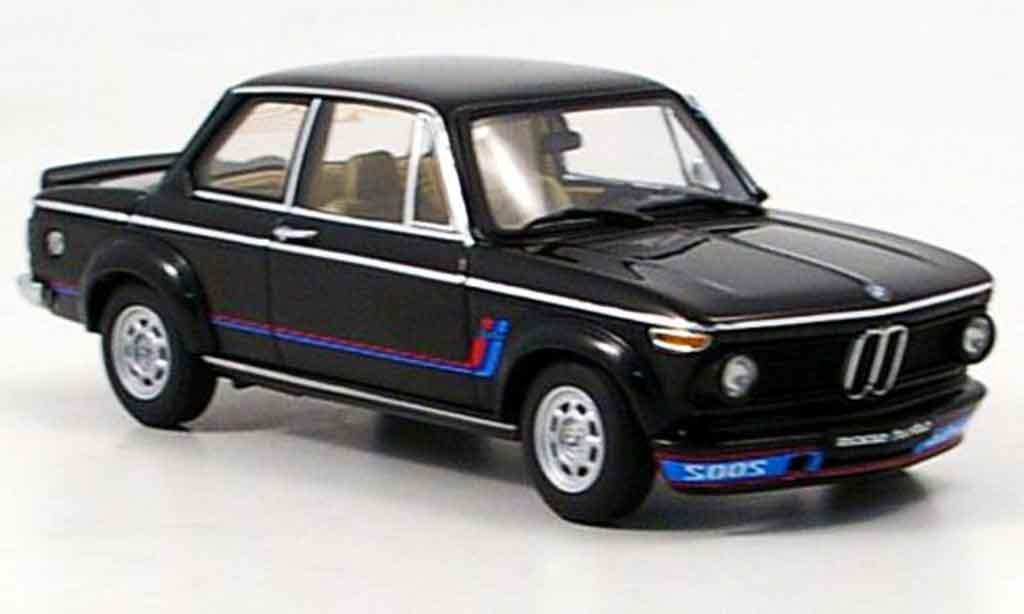 Bmw 2002 Turbo 1/43 Autoart noire 1973 miniature