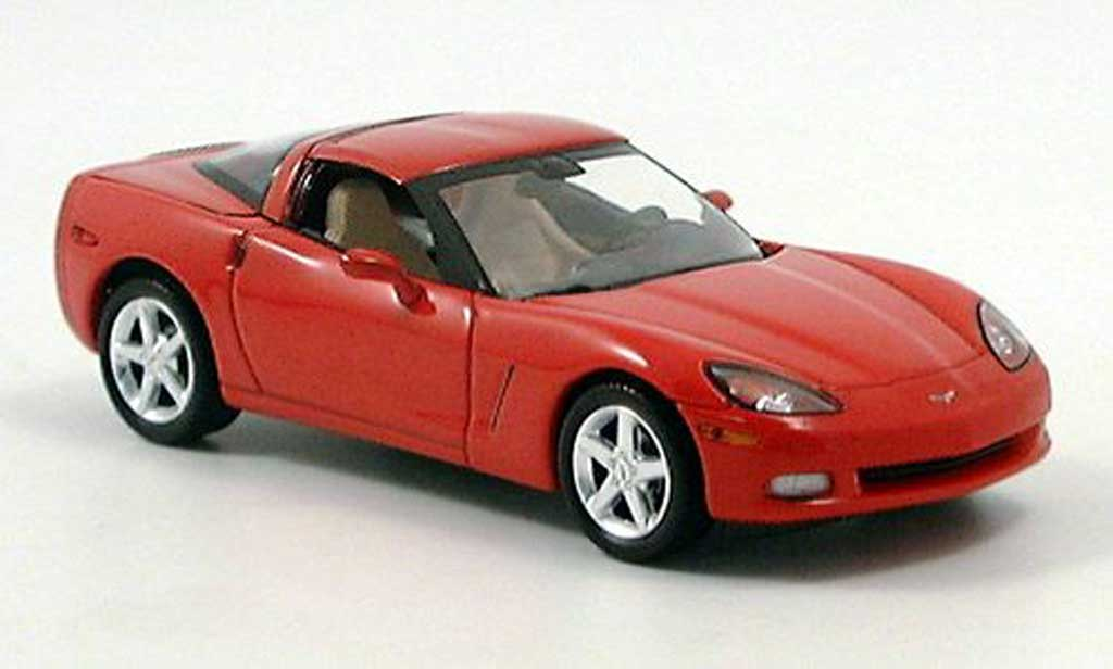 Chevrolet Corvette C5 1/43 Norev Coupe red 2004 diecast