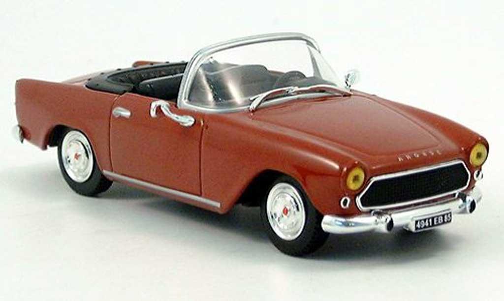 Simca Oceane 1/43 Norev rouge 1958 miniature