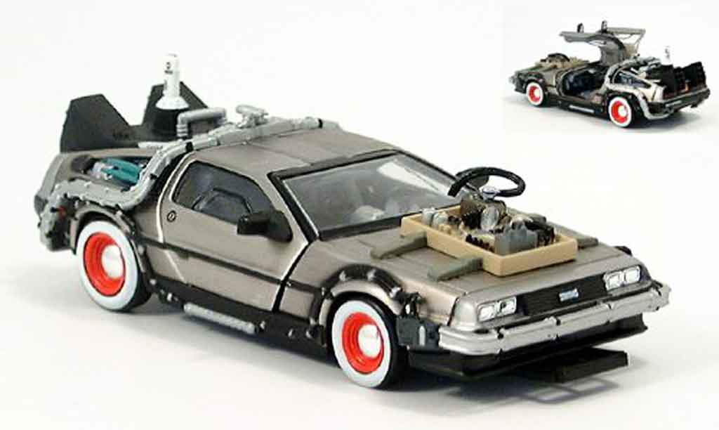 De Lorean futur III 1/43 Vitesse DMC 12 Back to the Futur III miniature