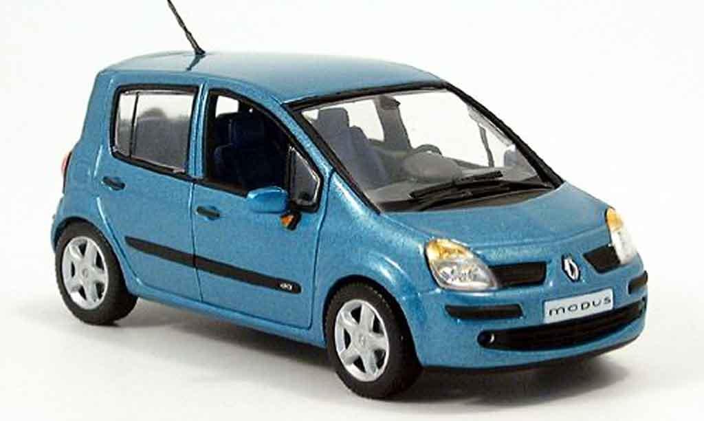 Renault Modus 1/43 Norev turkis 2004 miniature