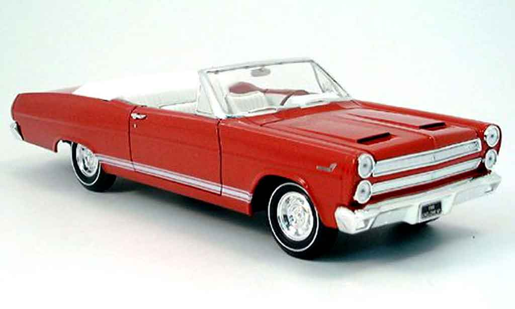 Mercury Cyclone 1/18 Yat Ming rouge 1966 miniature