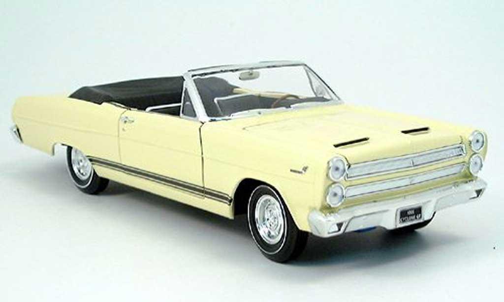 Mercury Cyclone 1/18 Yat Ming jaune 1966 miniature