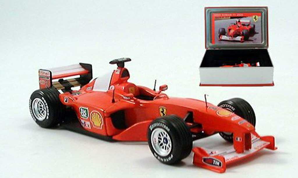 Ferrari F1 2000 1/43 IXO F1 No.3 Sieger Indianapolis M. Schumacher miniature