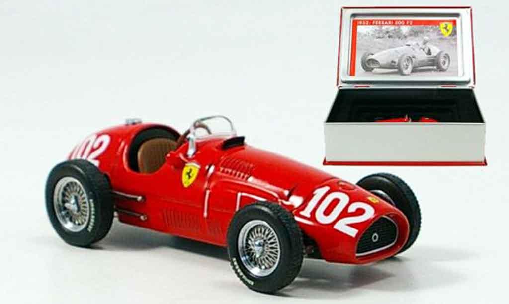 Ferrari 500 F2 1/43 IXO no. 102 sieger deutschland a. ascari 1952 miniature