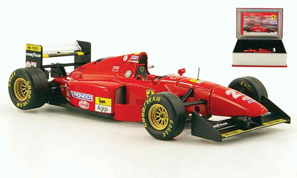 Ferrari 412 1/43 IXO t1b no.27 j.alesi gp belgien 1994 miniature