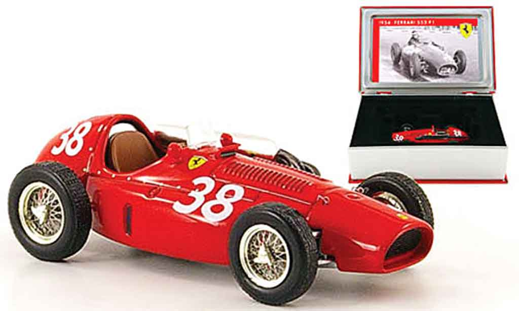 Ferrari F1 1/43 IXO 553 f1 supersqualo no.38 m.hawthorn gp spanien 1954 miniature