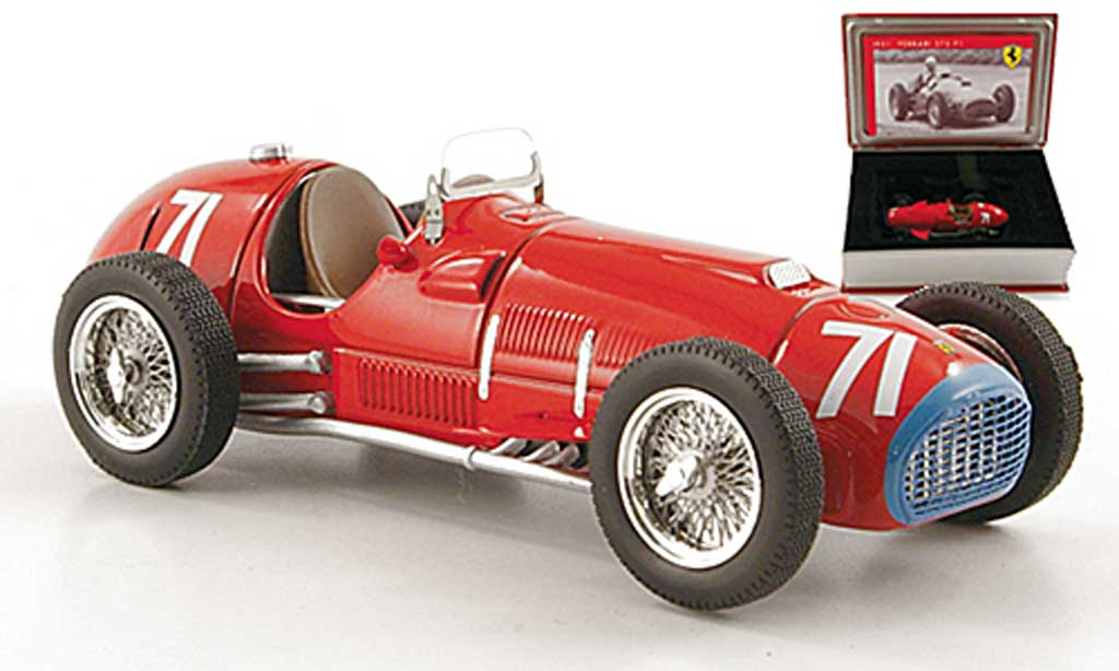 Ferrari 375 1/43 IXO F1 No.71 A.Ascari GP Deutschland - Nurburgring 1951 miniature