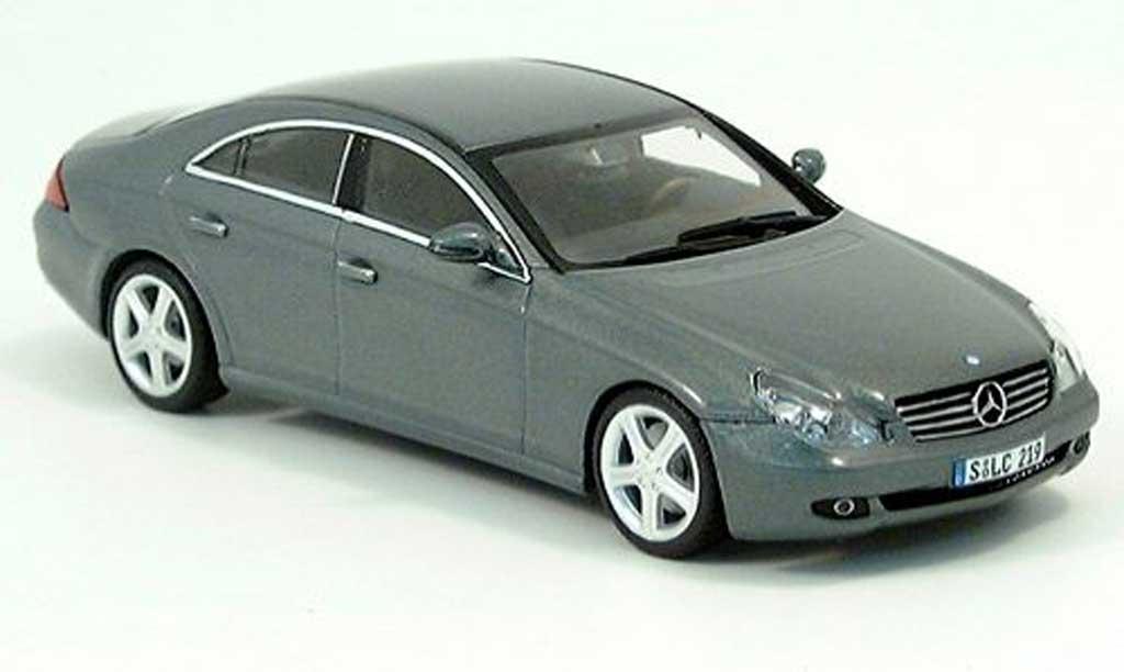 Mercedes Classe CLS 1/43 Minichamps greygrun 2004 diecast model cars