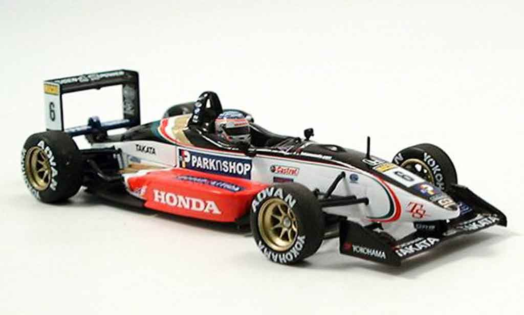Dallara F301 1/43 Minichamps Mugen T. Sato Sieger GP Macau 2001 miniature