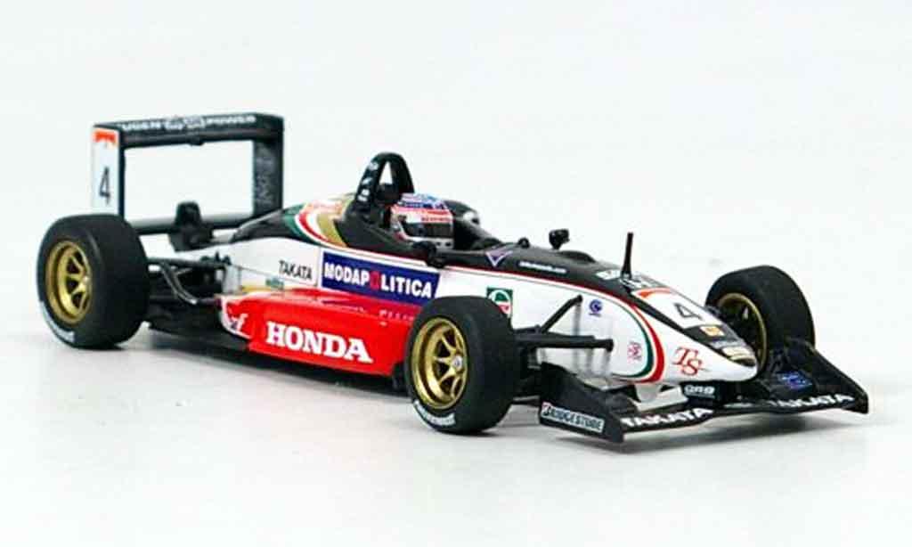 Dallara F301 1/43 Minichamps Mugen T. Sato Sieger Zandvort 2001 miniature