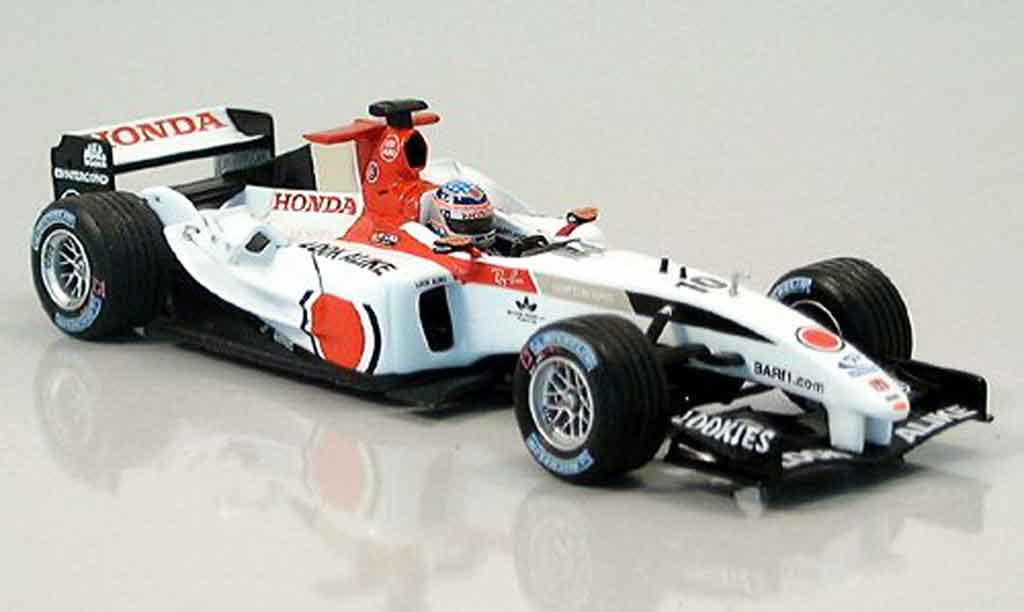 Honda F1 1/43 Minichamps BAR T. Sato British GP 2004 miniature