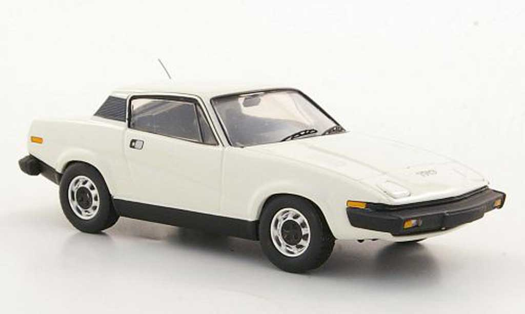 Triumph TR7 1/43 Trofeu Coupe blanche LHD miniature