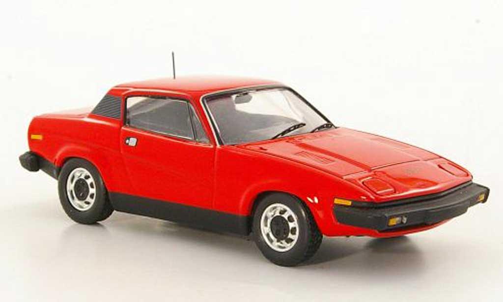 Triumph TR7 1/43 Trofeu Coupe rouge LHD miniature