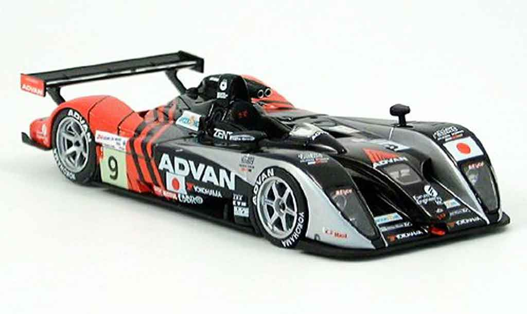 Dome S101 2004 1/43 Ebbro Mugen No.9 Advan 24h Le Mans miniature