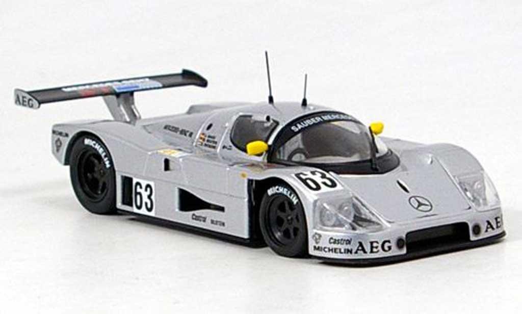 Sauber F1 1989 1/43 IXO Mercedes C-9 Sieger LeMans Mass-Reuter-Dieckens miniature