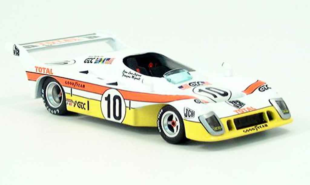 Mirage GR8 1/43 IXO LeMans No. 10 1976 miniature