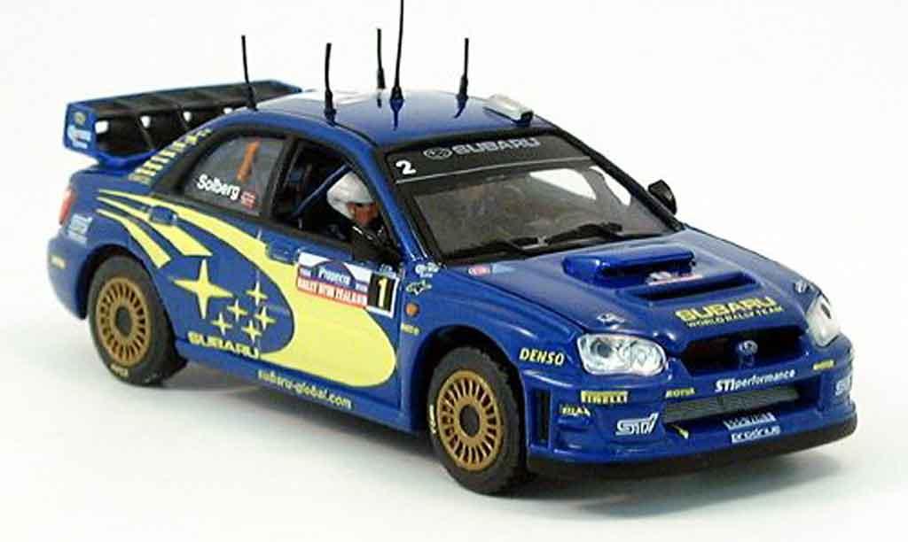 Subaru Impreza 1/43 Vitesse sieger new zealand solberg 2004 miniature