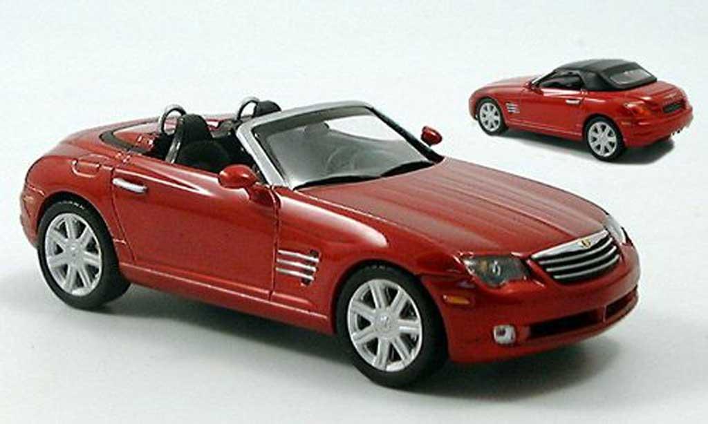Chrysler Crossfire 1/43 Norev Roadster rouge miniature