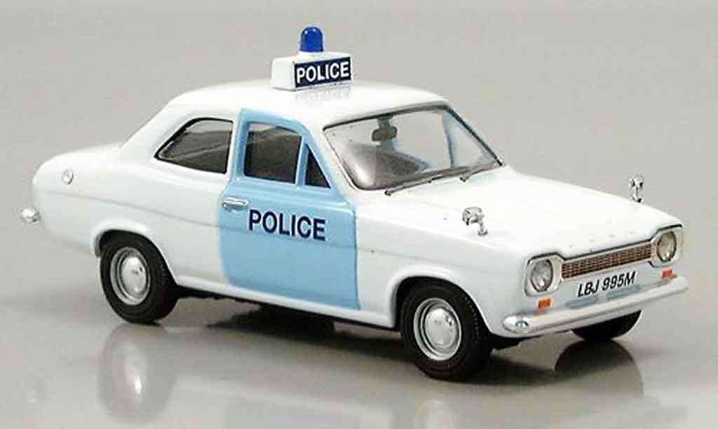 Ford Escort MK1 1/43 Vanguards police Suffolk miniature