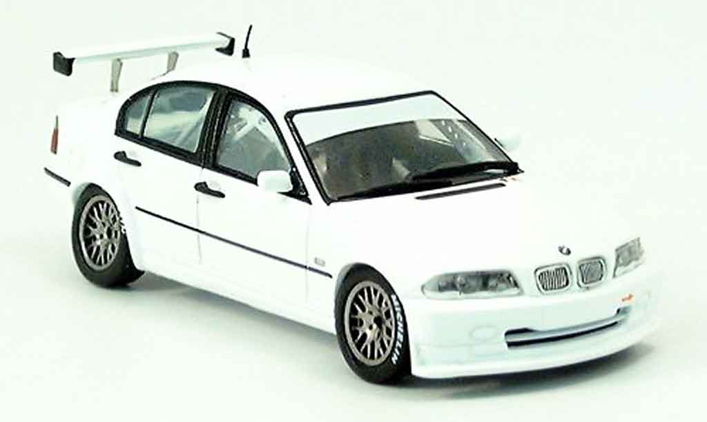Bmw 320 E46 1/43 Spark i Super white 2004 diecast model cars