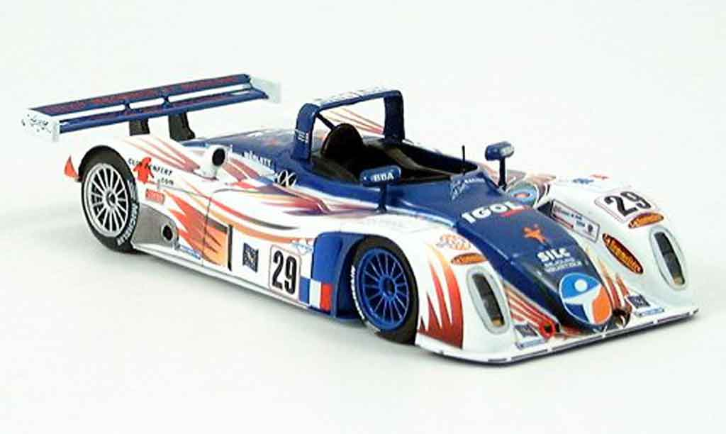 Reynard 2KQ 1/43 Spark No.29 Lehman Noel Del Bello Le Mans 2004 miniature