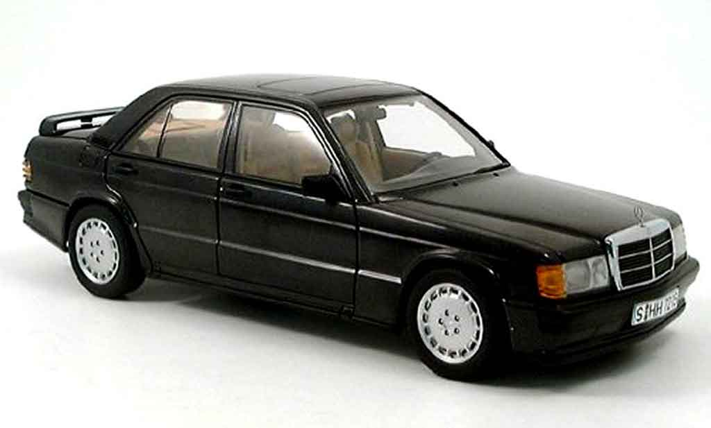 mercedes 190 e miniature 2 3 16v anthrazit autoart 1 18 voiture. Black Bedroom Furniture Sets. Home Design Ideas
