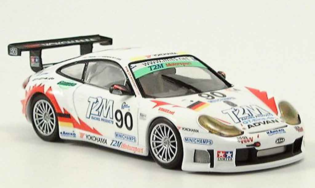 Porsche 996 GT3 RS 1/43 Minichamps Spa Ickx Rabineau Liddell 2004