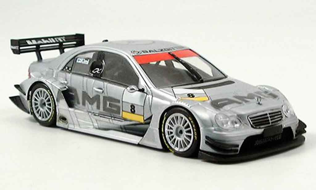 Mercedes Classe C 1/43 Minichamps DTM No.8 AMG Test 05.11. Hockenheim 2004 miniature