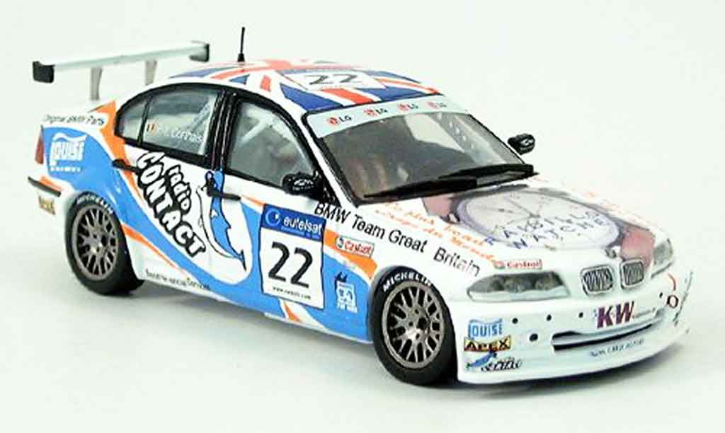 Bmw 320 E46 1/43 Spark si ETCC No. 22 2002 miniature