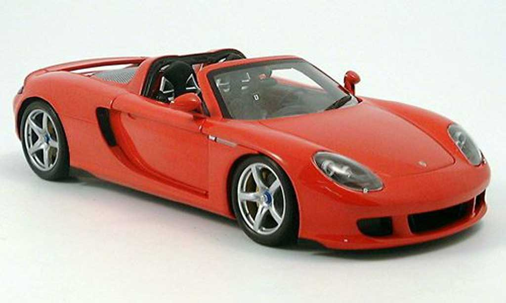 Porsche Carrera GT 1/18 Minichamps red 2003 diecast model cars