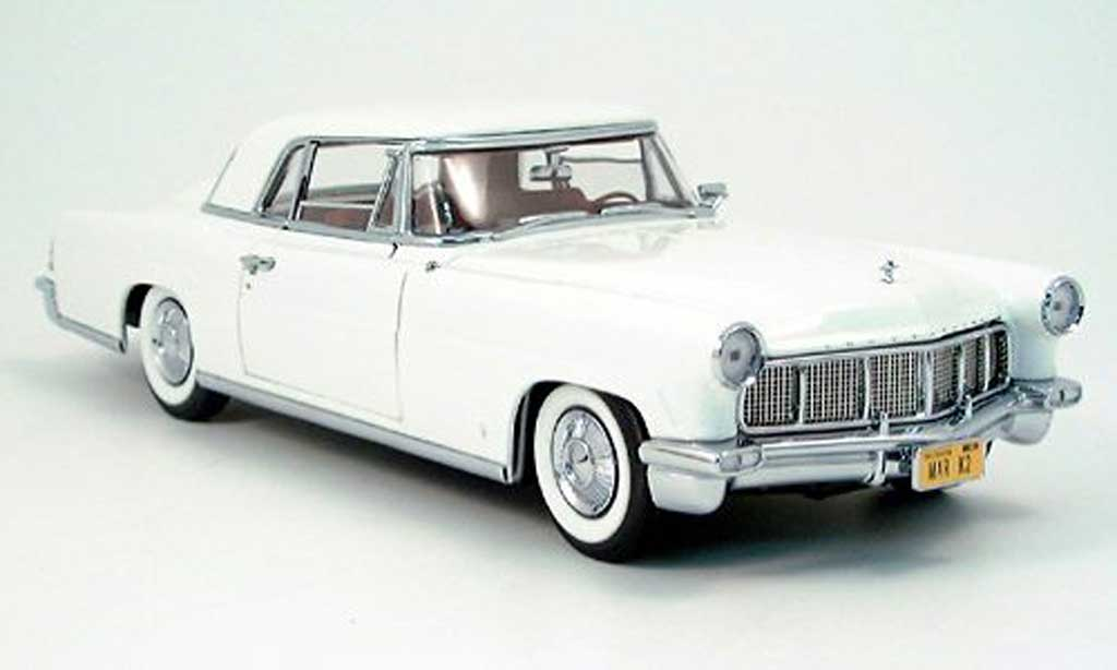 Lincoln Continental 1956 1/18 Yat Ming mk ii blanche miniature