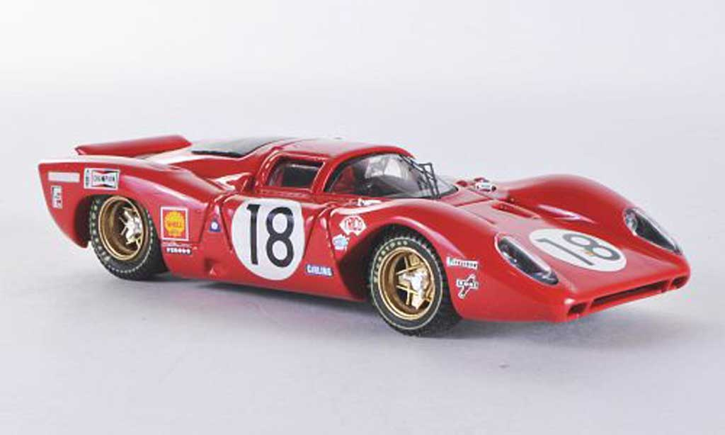 Ferrari 312 P 1/43 Best Coupe LM Rodriguez-Piper 1969 miniature