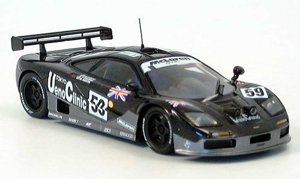 McLaren F1 1/43 IXO GTR Dalmas-Letho-Sekiya Sieger LM 1995 miniature
