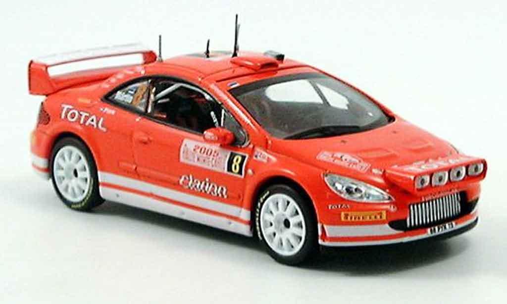 Peugeot 307 WRC 1/43 Norev monte carlo 2005 diecast model cars