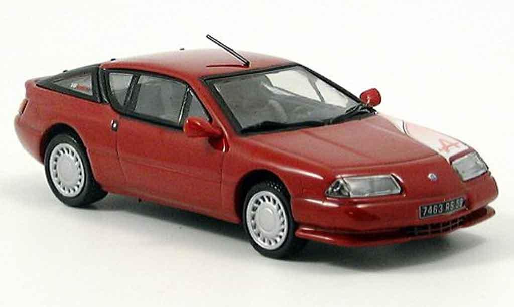Alpine GTA V6 GT 1/43 Norev rouge 1990
