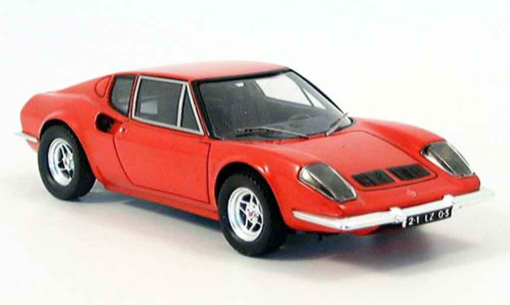 Ligier JS2 1/43 Spark red 1972 diecast model cars