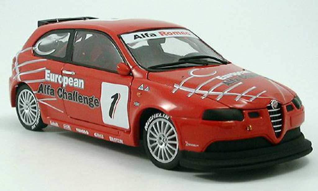 Alfa Romeo 147 gta, no.1, racing Ricko. Alfa Romeo 147 gta, no.1, racing DTM miniature 1/18